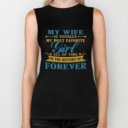 My Wife Forever Biker Tank
