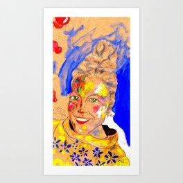 Smile 2 Art Print