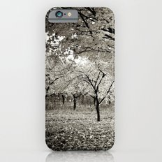 Wind and Leaves - B&W Slim Case iPhone 6s
