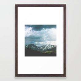 Storm Shadows Framed Art Print