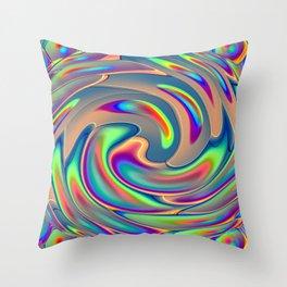 Digi Dye Throw Pillow