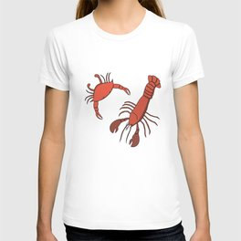 Lobster and Crab T-shirt