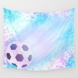 Flying football Wall Tapestry