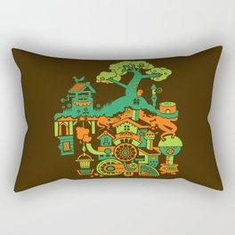 SUBterrian (Make A Wish) Rectangular Pillow