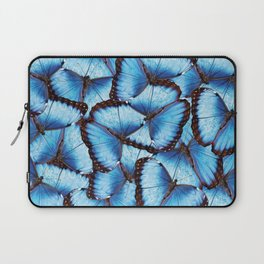 Blue Morpho Butterfly Laptop Sleeve