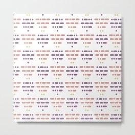 I Love You Morse Code IV Metal Print