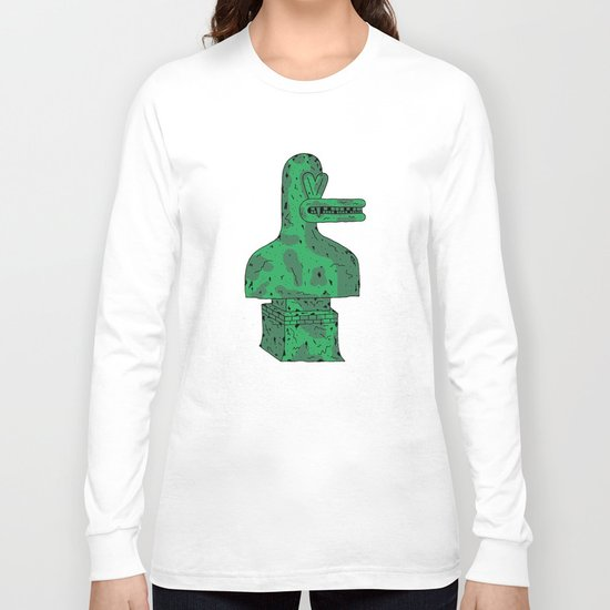 Duck Statue I Long Sleeve T-shirt