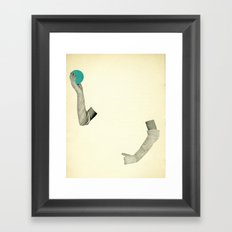 Disappearing Act Framed Art Print