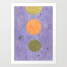 Ascension. Art Print