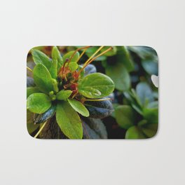 Macro flower Bath Mat