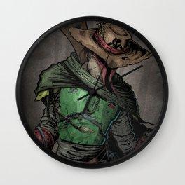 Gunslinger Fett Wall Clock