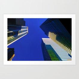 skyscrapers NY Art Print