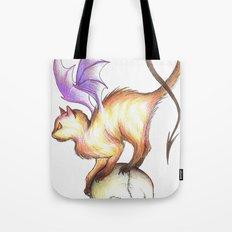 Devil Kitty Tote Bag