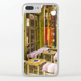 A Place for Turkish Coffee Clear iPhone Case