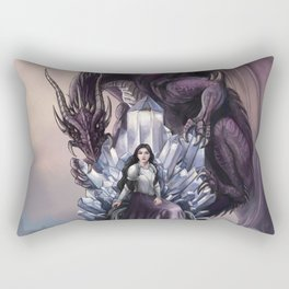 Dragon Queen Rectangular Pillow