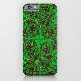 Camo Swirls iPhone Case