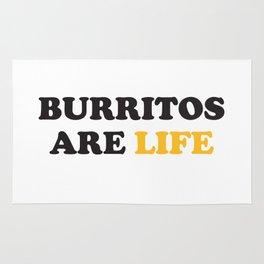 Burritos are Life Rug