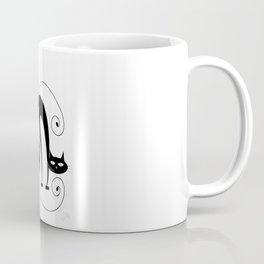 Four Cats / Cuatro Gatos Coffee Mug