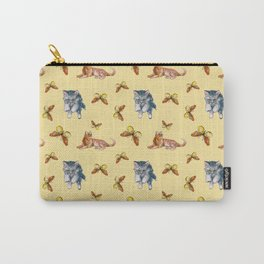 Cats and Butterflies Carry-All Pouch