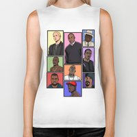 hiphop Biker Tanks featuring HipHop Legends by Akyanyme