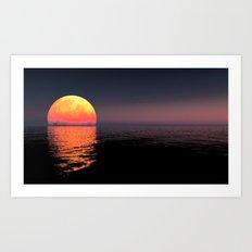 Moonrise Art Print