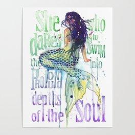 Mermaid : Profound Depths Poster