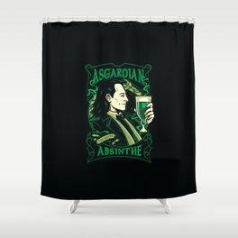 Asgardian Absinthe Shower Curtain