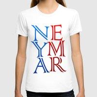 neymar T-shirts featuring Neymar by Sport_Designs