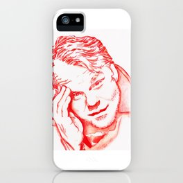 Philip Seymour Hoffman in Red iPhone Case