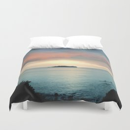 Magical sunset II Duvet Cover