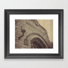 Public Library Framed Art Print