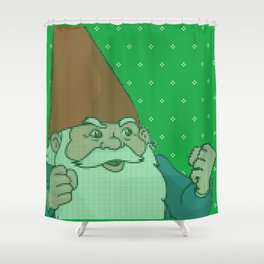 Oblígame prro Shower Curtain