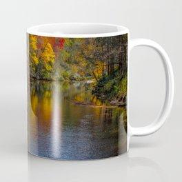 Autumn on the River Coffee Mug