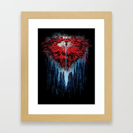SHATTERED Framed Art Print