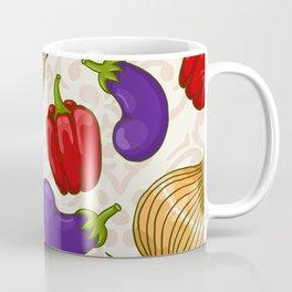 Cute vegetable pattern Coffee Mug