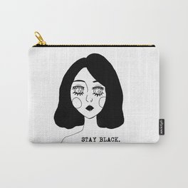 Stay Black Carry-All Pouch