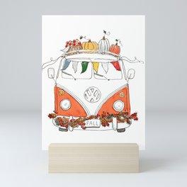 Seasoned Traveler Mini Art Print