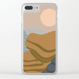 Terraced fileds Clear iPhone Case