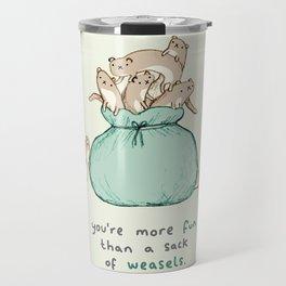 Sack of Weasels Travel Mug