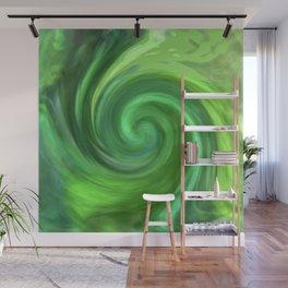 Green Twirl 1062 Wall Mural