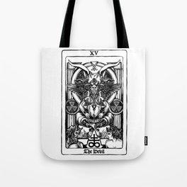 The Devil Tarot Tote Bag