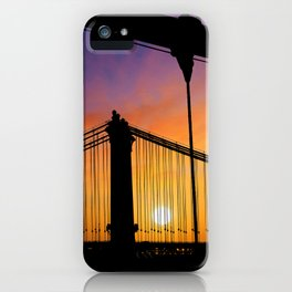 New York Sunset 8 iPhone Case