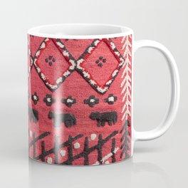 V22 Sheep herd Design Traditional Moroccan Carpet Texture. Coffee Mug