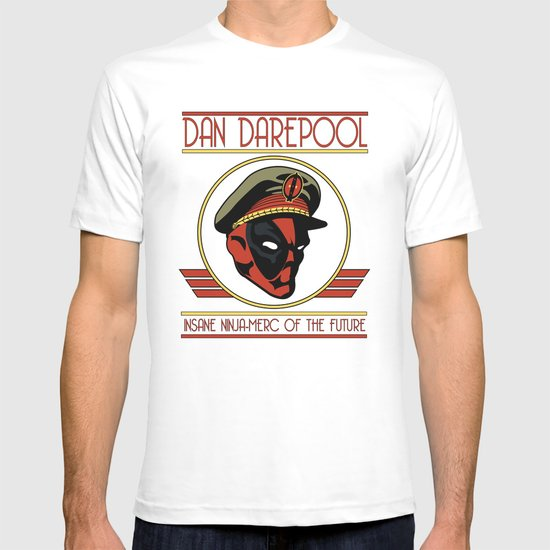 Dan Darepool: Insane Ninja-Merc of the Future T-shirt