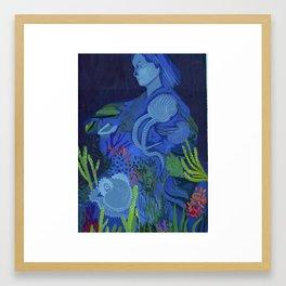 Women in Science, Jeanne Villepreux-Power Framed Art Print