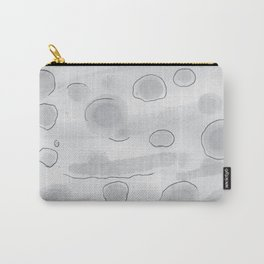 Monochromatic Modern Color Washes Carry-All Pouch
