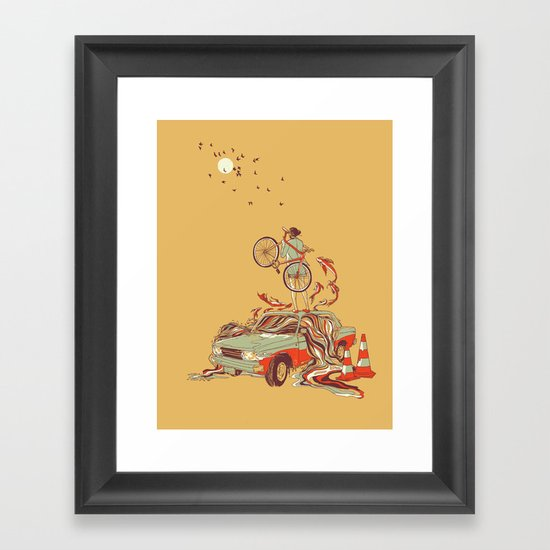 Whole New way Framed Art Print
