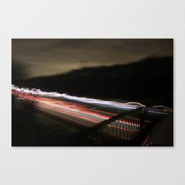 world in motion #1 Canvas Print