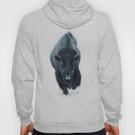 Walking With Bison Hoody