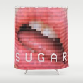 Sugar Shower Curtain